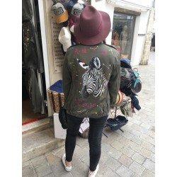 Zebra Jacket - Chapellerie ile de Ré