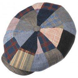 Stetson cap Haterras patchwork - Chapellerie ile de Ré