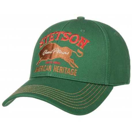 Stetson casquette baseball heritage américain