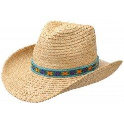 Stetson chapeau Western Raphia