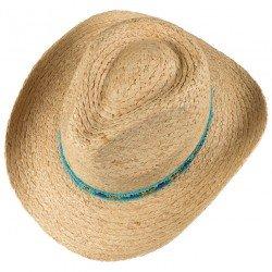 Stetson Western Raffia hat - Chapellerie ile de Ré