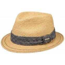 Stetson traveller hat raffia - Chapellerie ile de Ré