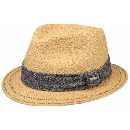 Stetson traveller hat raffia