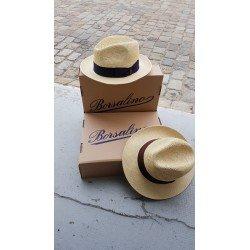 Borsalino chapeau semi crochet