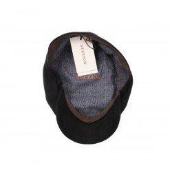 Stetson Oregon laine vierge cashemere noir - Chapellerie ile de Ré