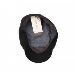 Stetson Oregon virgin wool cashemere black - Chapellerie ile de Ré