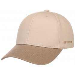 Stetson baseball cap cotton beige - Chapellerie ile de Ré