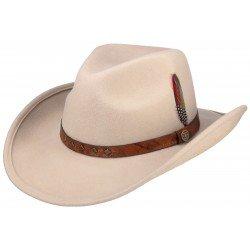 Stetson chapeau western feutre en laine