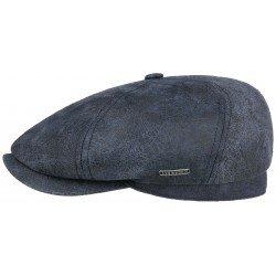 leather cap Stetson brooklin