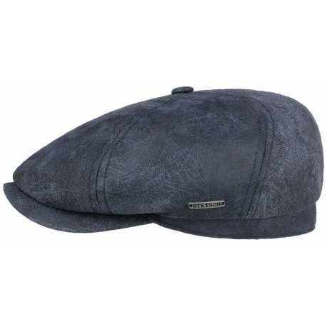 leather cap Stetson brooklin - Chapellerie ile de Ré