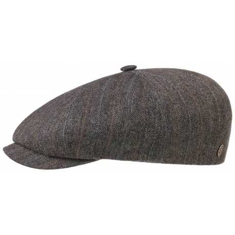 Stetson cap 8 panel linen and wool - Chapellerie ile de Ré