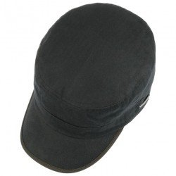Stetson army military cap cotton Herringbone - Chapellerie ile de Ré