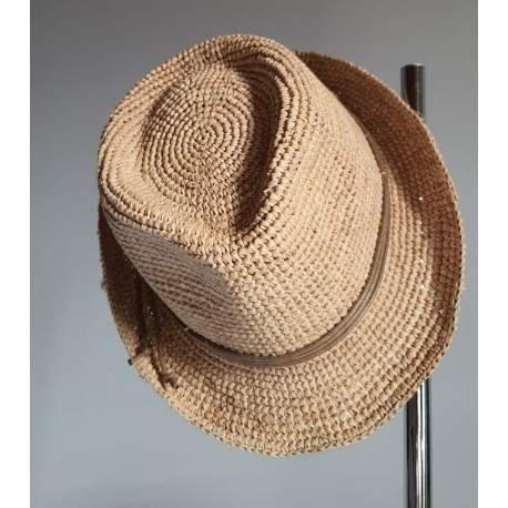 chapeau Marone en raphia Vedi - Chapellerie ile de Ré