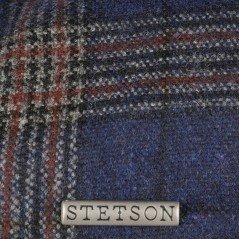 Stetson cap Texas wool check - Chapellerie ile de Ré