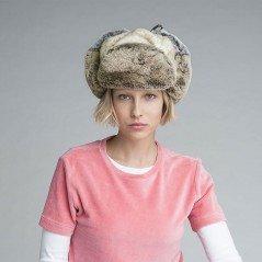 Kangol Multi faux Fur Trapper - Chapellerie ile de Ré