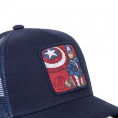 Casquette Capslab Marvel Captain America - Chapellerie ile de Ré
