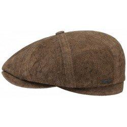 Stetson Hatteras Leather Cap with Ear Cap - Chapellerie ile de Ré