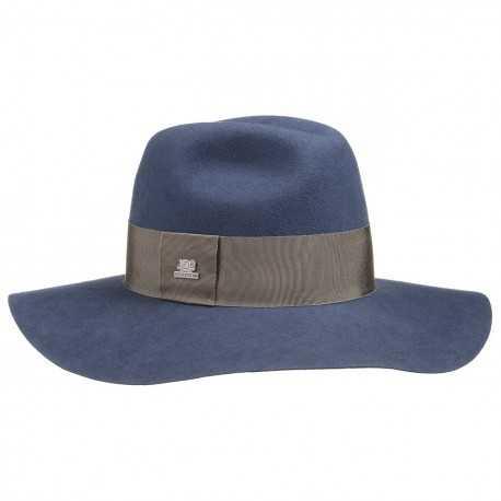Stetson Capelin Plum feutre bleu