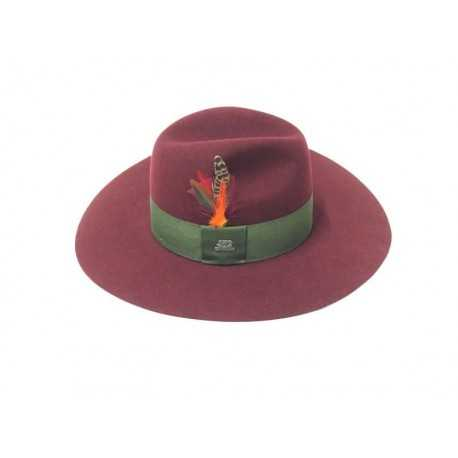 Stetson Capeline Plum red