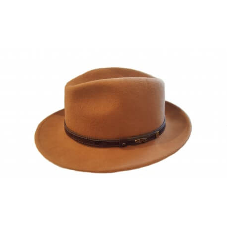 Fedora hat by Flechet - Chapellerie ile de Ré