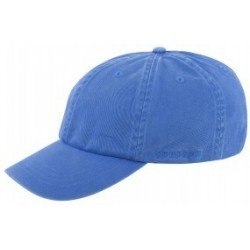 Stetson Baseball Cap in Cotton, blue