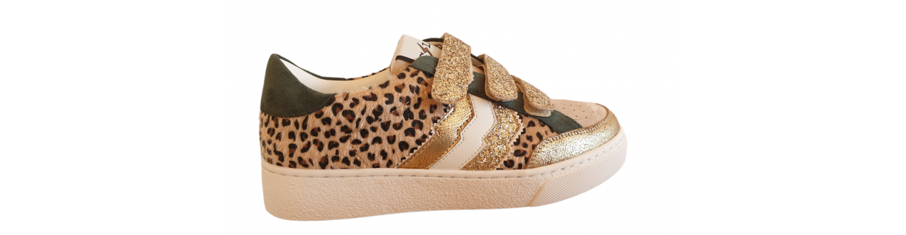 Chaussures CL11 Sneakers baskets Leopard scratch