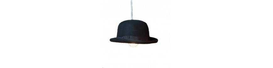 Diseño - Eclairage chapeau melon
